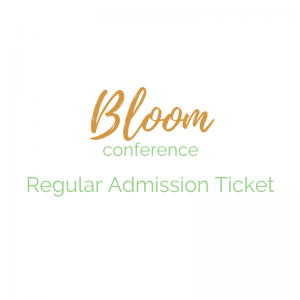 Bloom Conference Ticket