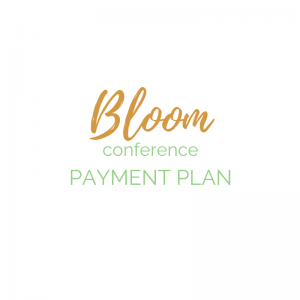 Bloom Ticket Payment Plan